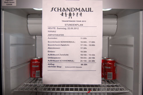 Stundenplan in Hanau