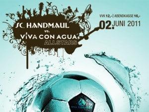 Benefiz-Fußballspiel am 2.6.11 in München